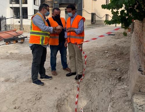 Diputación impulsa la modernización de la Avenida de San Antonio en Hijate