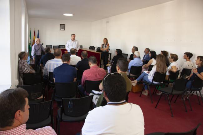 Reunión de Ayuntamientos del Almanzora afectados por la DANA