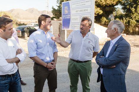 Diputación invertirá un millón de euros en la renovación de las redes de Pulpí, Laroya y Zurgena