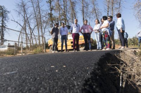 El Plan de Caminos de Diputación mejora las vías rurales de Huércal-Overa