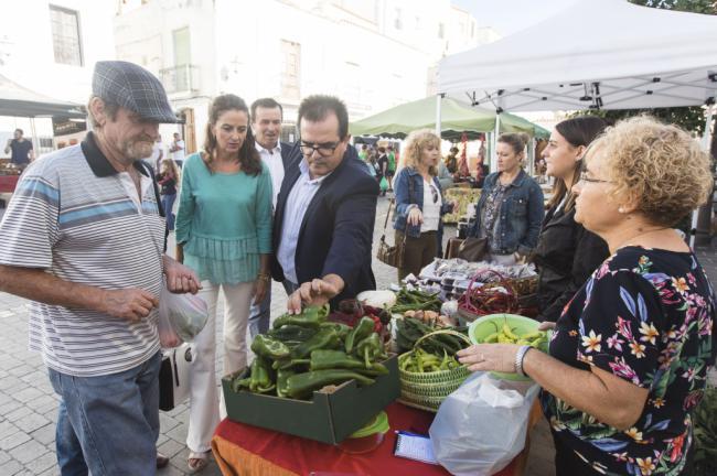Abla se convierte en capital de la producción ecológica con su Ecomercado