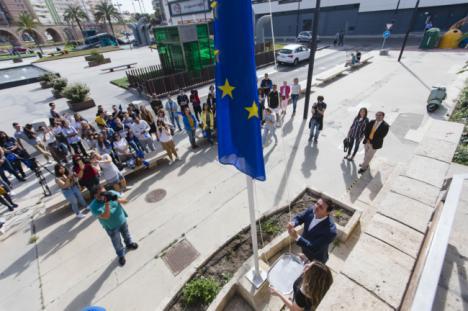 Diputación celebra el Día de Europa ensalzando las grandes oportunidades que ofrece a la provincia