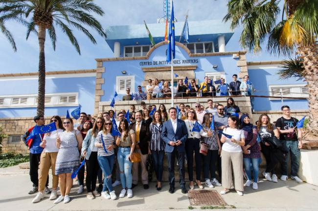 Diputación acerca Europa a 2.400 almerienses durante este año