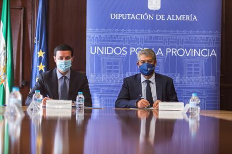 Diputación y UAL afianzan su compromiso para fijar el talento en la provincia