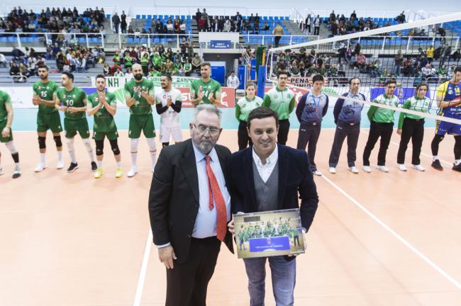 Diputación se alía con el Unicaja Voleibol para promocionar 'Costa de Almería'