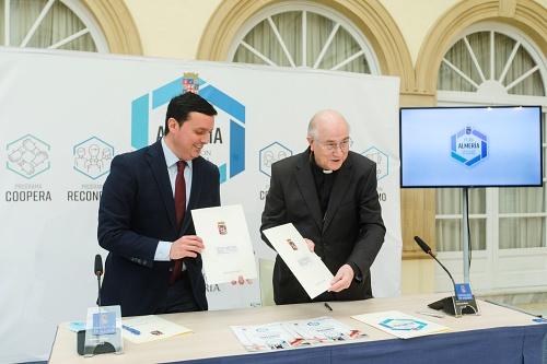Diputación hace una donación a Cáritas y cofinancia obras en 9 iglesias