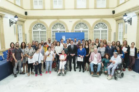 Diputación apoya a 30 asociaciones del Consejo Provincial de Familia