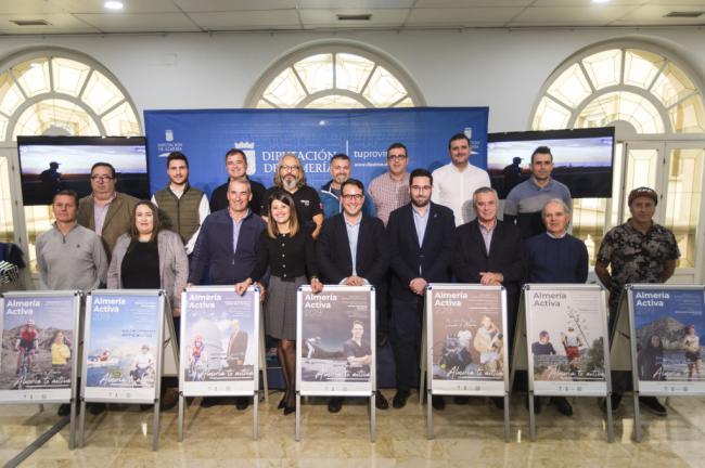 La VII edición de 'Almería Activa' recalará en ocho municipios con siete pruebas deportivas