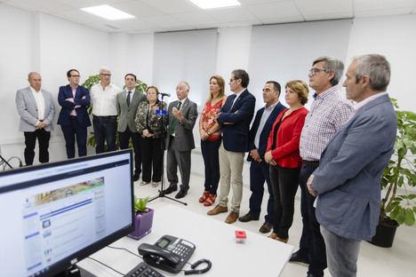 Benahadux estrena una que dará servicio a 13 municipios del Bajo Andarax