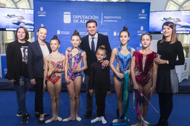 La Gimnasia Rítmica de Almería tiene una cita este fin de semana en Vícar