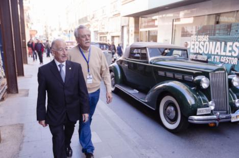 La 29º Ruta de Automóviles Antiguos muestra los atractivos turísticos de Almería
