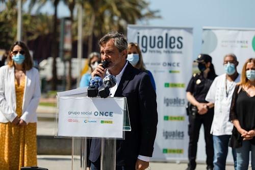 Escobar participa en la presentación de 'La Ilusión Puede con Todo' de la ONCE