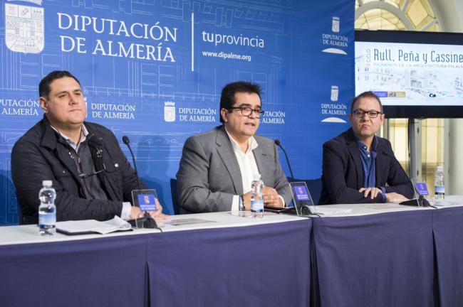 El IEA dedica el 'II Ciclo Pioneros de la Arquitectura' a López Rull, Javier Peña y Fernando Casinello