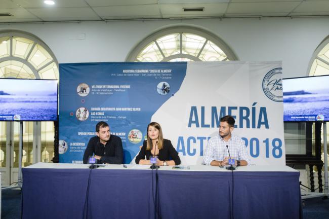 El 'Open de Pesca en Kayak' del programa Almería Activa reúne a 240 visitantes de todo el país