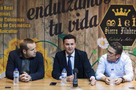 Diputación y los empresarios de Lubrín, Zurgena y Arboleas estrechan lazos