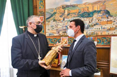 Visita a Diputación del Obispo Coadjutor