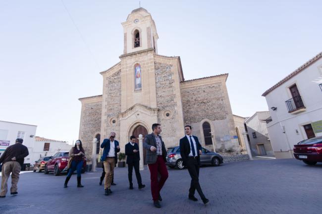 Diputación invierte 200.000 € en dos calles de Uleila y la Piscina de Chirivel