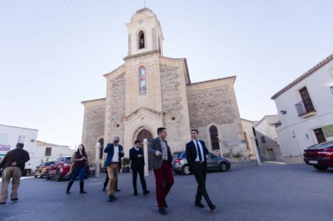 Diputación invierte 150.000 euros en la mejora de la carretera que une Uleila y Lubrín