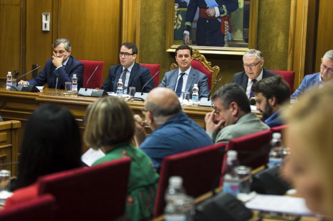 Vox y Cs están al frente de la Comisión de Cuentas de la Diputación