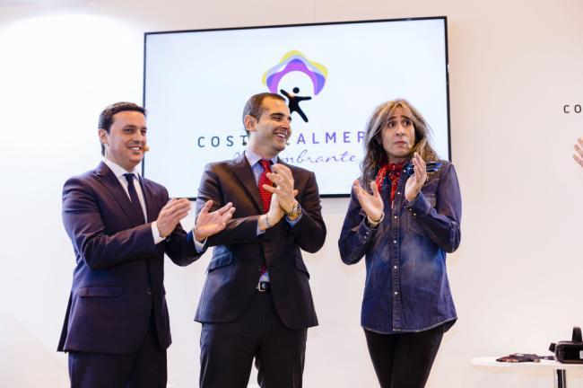 Intensa actividad de 'Costa de Almería' en el arranque de FITUR 2019