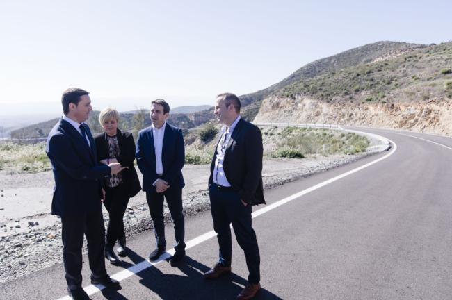 Diputación culmina la mejora de la Carretera de El Chive