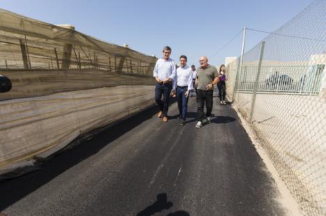 Diputación pavimentará el camino de Velefique a Castro de Filabres