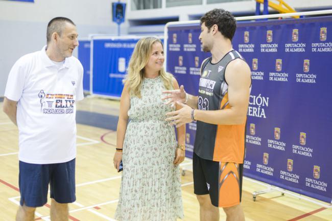El Pabellón Moisés Ruiz acoge el 'Campus Élite Andalucía Basket'