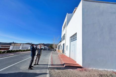 Benitagla estrena nave municipal gracias a las inversiones de Diputación