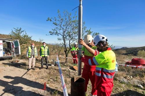 Benitagla incorpora un nuevo sondeo a su red de abastecimiento gracias a Diputación