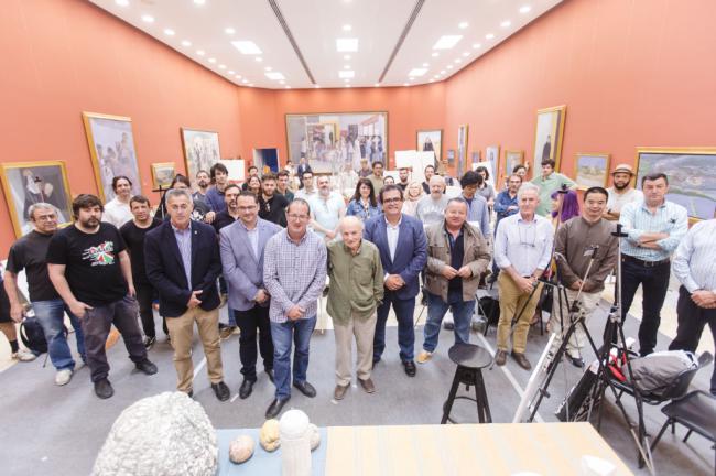 Olula del Río se convierte en el epicentro internacional del Realismo y la Figuración