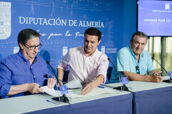 Diputación apoya a Lúcar a recuperar la historia de la Balsa a través de unas jornadas histórico-festivas