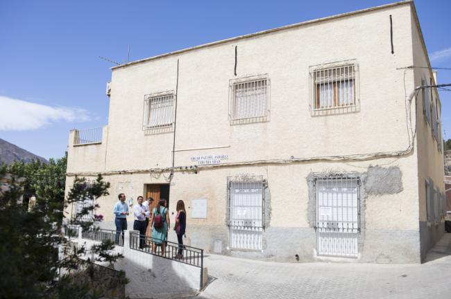 Diputación mejora la iglesia de Terque e impulsa las obras de un albergue