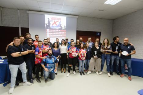 Diputación acoge la II entrega de Trofeos del Circuito de Rugby Playa