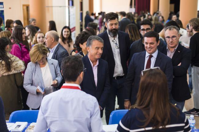 1.250 personas en las Ferias de Empleo y Emprendimiento de Diputación y Cámara