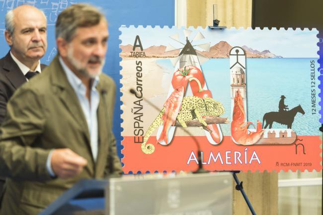 Almería ya está en un sello de Correos