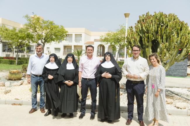 Las Hermanitas de los Ancianos Desamparados reciben 10.000 euros de la Diputación