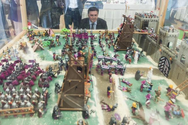 Más de 4.000 piezas en la exposición de Playmobil