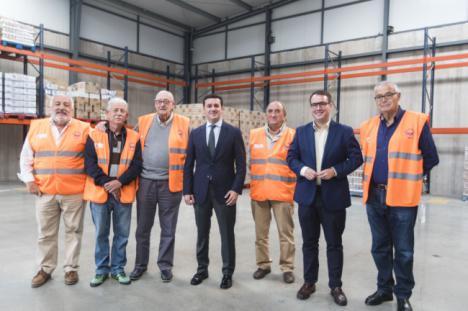 Diputación apoya al Banco de Alimentos en sus veinte años de solidaridad en Almería
