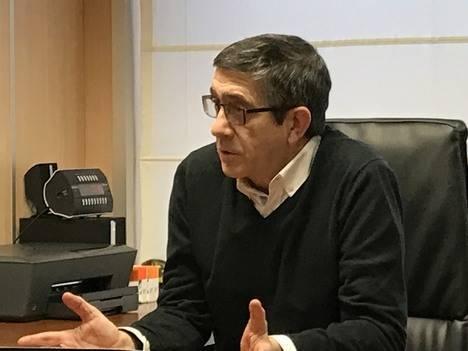 """Patxi López: """"No estamos en un proceso para ajustar cuentas ni recibir consignas"""""""
