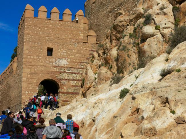 La Alcazaba ofrecerá visitas gratuitas a todos los centros escolares que lo soliciten