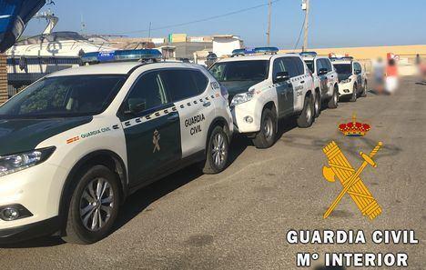 La Guardia Civil detiene a una persona por tocamientos a una mujer en Aguadulce