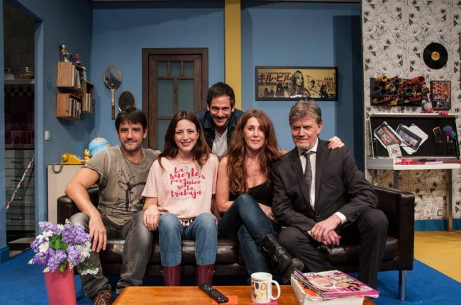 Eloy Arenas encabeza el reparto de 'Burundanga' que se representa en Roquetas