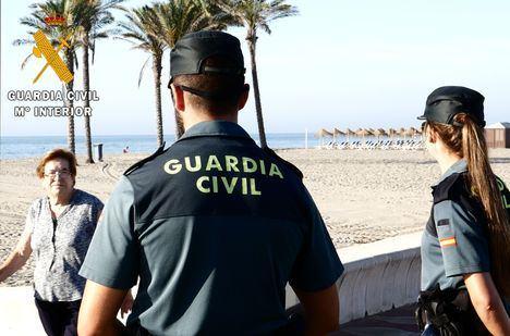 La Guardia Civil detiene al autor del robo con violencia a una persona de 87 años de edad