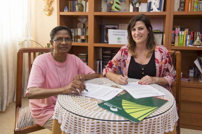 Unicaja y Adoratrices de Almería se unen para asistir a mujeres víctimas de trata