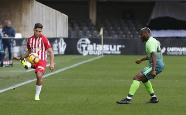El Almería y Adri Montoro llegan a un acuerdo para rescindir el contrato