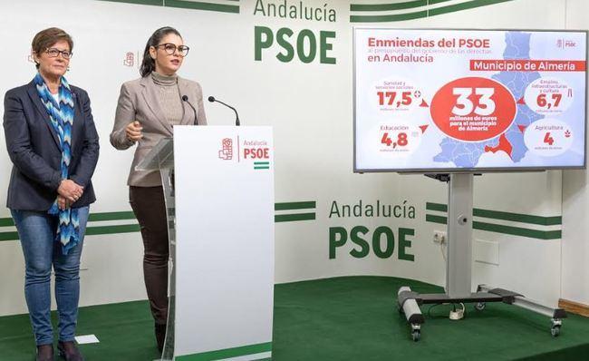 El PSOE pide incluir como inversión de la Junta en la capital los costos del Materno