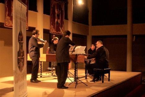 'Al Ayre Español' brilla en una hora de concierto con piezas de Händel y Purcell en Roquetas de Mar