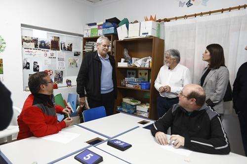 Diputación colabora con Asprodalba