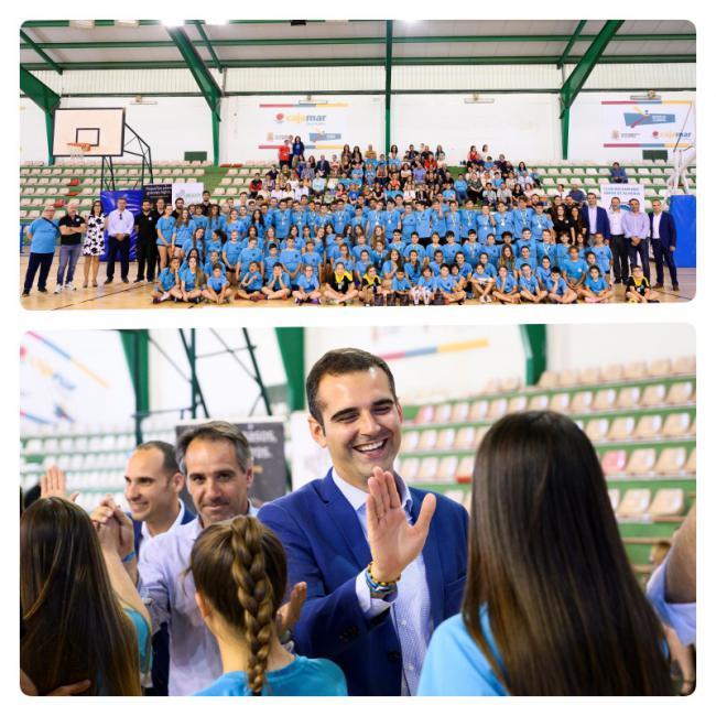 El alcalde felicita al club Bahía de Almería por los éxitos en la cantera y las seniors