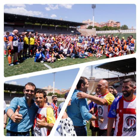 Más de 200 jugadores en el I Festival de Rugby Inclusivo de URA CLAN